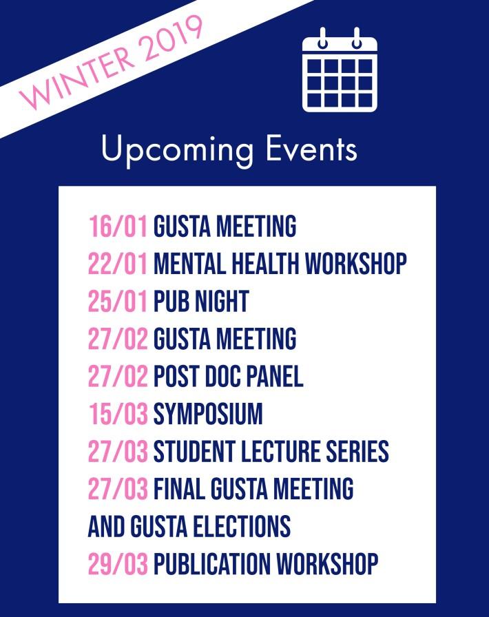 gusta schedule